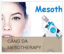 Kỹ thuật liệu pháp Mesotherapy trẻ hóa, căng da