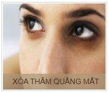 XÓA QUẦNG THÂM MẮT khuyến mại 50% phương pháp xóa quầng thâm mắt